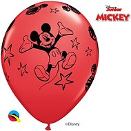 Inflatable Balloons, 30cm, Red, Mickey Mouse, 6 pcs - Balloons