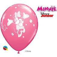 Inflatable Balloons, 30cm, Pink, Minnie Mouse, 6 pcs - Balloons