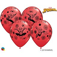 Inflatable Balloons, 30cm, Spiderman, Red, 6 pcs - Balloons