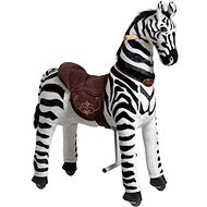 Mechanical Ride-On Zebra Ponnie Dixi M