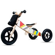 Wooden bouncer 2in1 Twist Classic black edition - Balance Bike/Ride-on