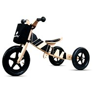 Wooden bouncer 2in1 Twist samoa black edition - Balance Bike/Ride-on
