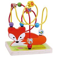 Wooden maze fox sun baby AB3348, E01.014.1.1 - Wooden Toy