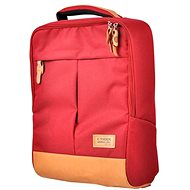 Cube Red Backpack - School Backpack