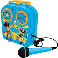 Lexibook Toy Story Portable karaoke with a microphone