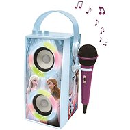 Lexibook Frozen Portable Bluetooth speaker with microphone and light effects - Musical Toy