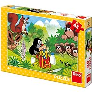 Mole and Snack 48 Puzzle New