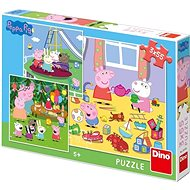 Peppa Pig On Vacation 3X55 Puzzle New - Puzzle