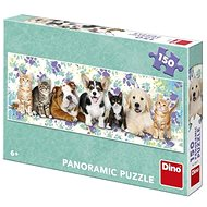 Dogs and Cats 150 Panoramic Puzzle New - Puzzle