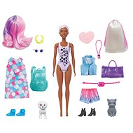 Barbie Colour Reveal Doll Set with Pet - Doll