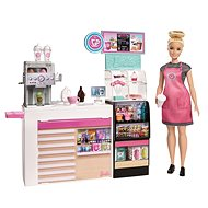 Barbie cafe with a doll - Doll