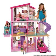Barbie dream house with slide and new elevator - Doll