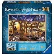Ravensburger 129256 Exit KIDS Puzzle: Night at the Museum 368 Pieces