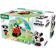 Brio World 32270 Mickey Mouse Station with sound recording - Train Set