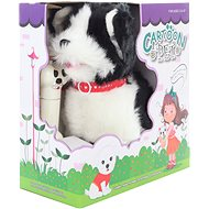 Black and white dog on a cord - Interactive Toy