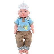 Baby boy- gender of baby boy- in a bag - Doll