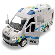 MaDe Auto police van, for a flywheel with a real voice of the crew, 21 cm - Toy Vehicle