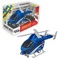 Police Helicopter Wheelie, Batterie Operated with Light and Sound - Helicopter