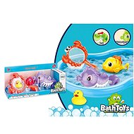 Animals in the bath with a net - Water Toy