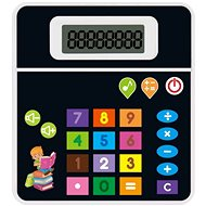 MaDe Calculator in a Czech battery box, with melodies and sound, 12x13cm - Educational toy