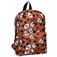 Backpack Mickey Mouse My Own Way Brown - School Backpack