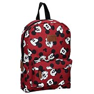 Mickey Mouse Backpack My Own Way Red - School Backpack