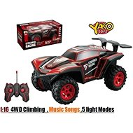 Car RC Racing Climber 4WD 1:16 red - RC Remote Control Car