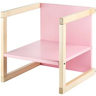 Wood Partner Children's chair WENDY 3in1 Color: lacquer / pink - Children's Chair