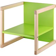 Wood Partner Children's chair WENDY 3in1 Color: lacquer / green - Children's Chair