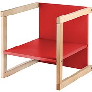 Wood Partner Children's chair WENDY 3in1 Color: lacquer / red - Children's Chair