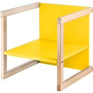 Wood Partner Children's chair WENDY 3in1 Color: lacquer / yellow - Children's Chair