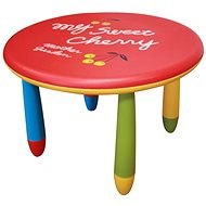 Childrn's plastic table in a playful colour design - Children's Table