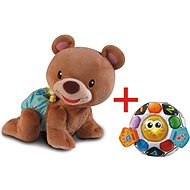 Vtech Crawling Teddy Bear + My first football boot - Interactive Toy