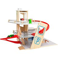 Small Foot Premium 7 piece parking lot - Wooden Toy