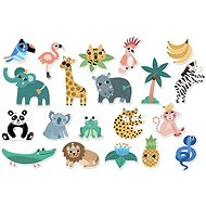 Vilac Wooden Magnets Jungle - Wooden Toy