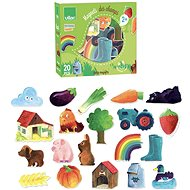Vilac Wooden Magnets Countryside - Wooden Toy