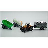 Set - tractor and agricultural machinery - Set