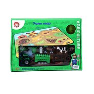 Farm and tractor - Set