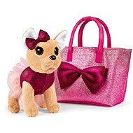 Simba ChiChi Love Chihuahua Bow Puppy Fashion in a Bag - Plush Toy