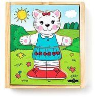 "Woody Puzzle wardrobe ""Cat"",, 18 parts - Puzzle"