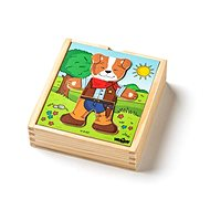 "Woody Puzzle wardrobe ""Dog"", 18 parts - Puzzle"