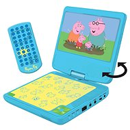 Peppa Pig Portable DVD Player 7 With Rotating Screen and Headphones - Musical Toy