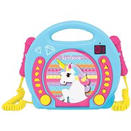 Lexibook Portable CD player with 2 microphones - unicorn - Musical Toy