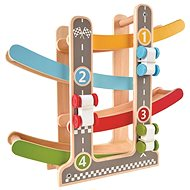Hape Mini track for toy cars - Wooden Toy