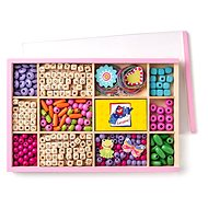 Woody ABC Beads in a box