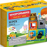 Magformers - The Town of Banka - Magnetic Building Set
