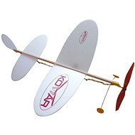 Airplane Mosquito Throwing a Model on Rubber - Glider