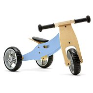 Nicko - Wooden bouncer 2in1 mini - blue - Balance Bike/Ride-on