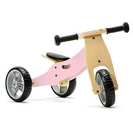 Nicko - Wooden bouncer 2in1 mini - pink - Balance Bike/Ride-on