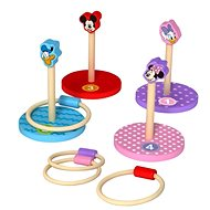 Derrson Disney Wooden Throwing Game Rings - Wooden Toy